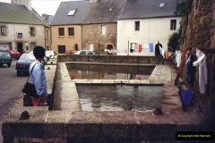 1987 France. (39) thje Lavoir at Roscoff.39