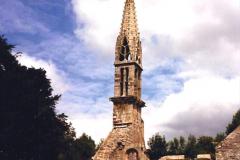 1987 France. (51) Vieux Bourg near Quimerc'h (Foret de cranou). 51