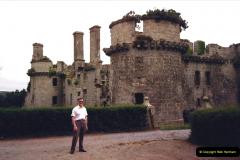 1987 France. (58) Chateau De Kergournadeac.58