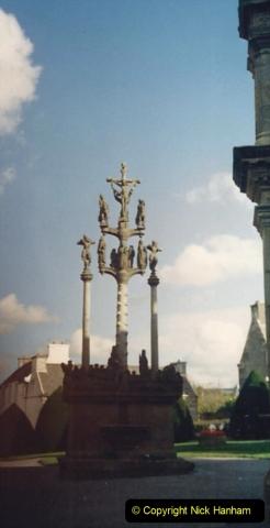 1988 Brittany, France. (25) St.Tegonnec. 25