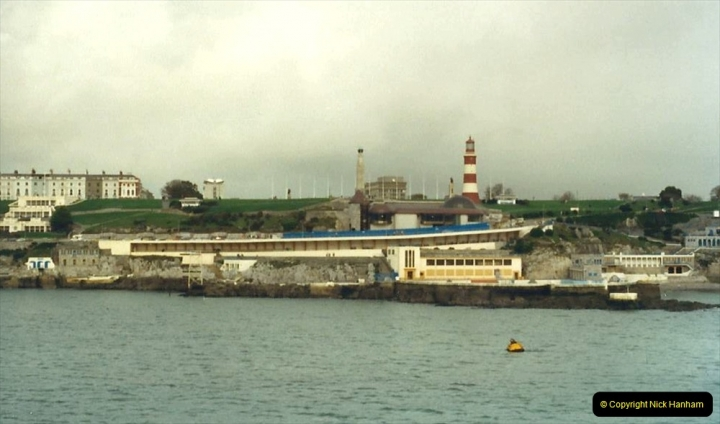 1988 Brittany, France. (3) Plymouth to Roscoff. 03