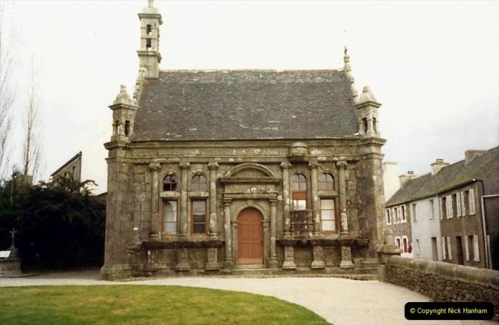 1988 Brittany, France. (34) Guimiliau. 34