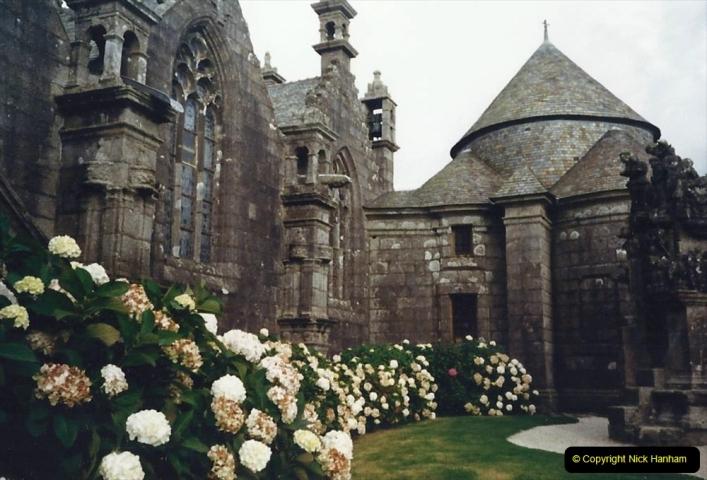 1988 Brittany, France. (35) Guimiliau. 35