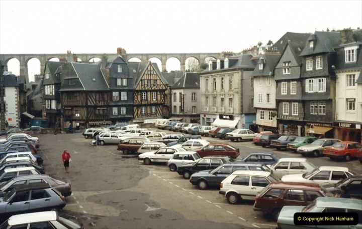 1988 Brittany, France. (40) Morlaix. 40