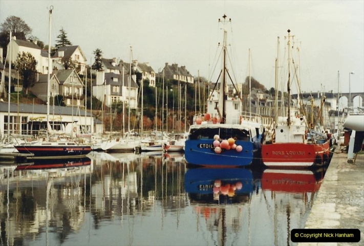 1988 Brittany, France. (42) Morlaix. 42