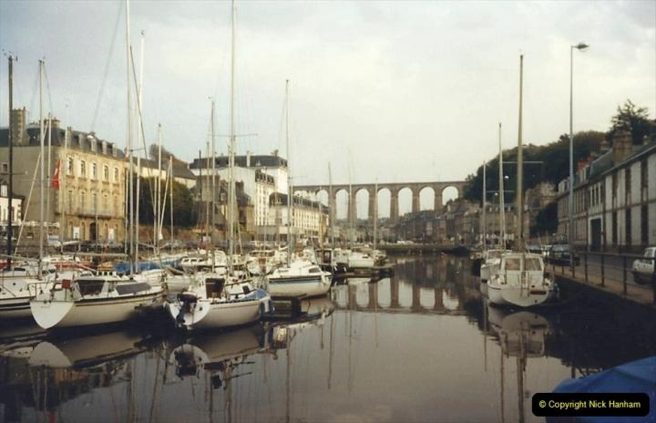 1988 Brittany, France. (43) Morlaix. 43