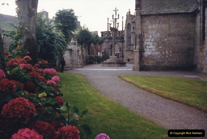 1988 Brittany, France. (49) Guimiliau.  49