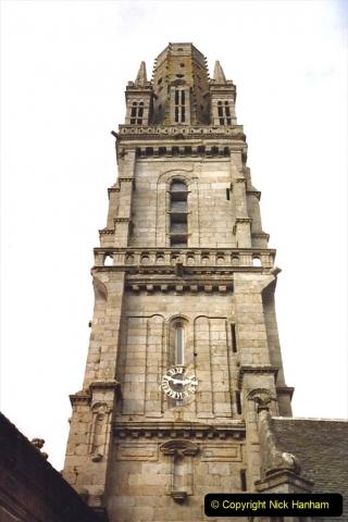 1988 Brittany, France. (50) Guimiliau.  50