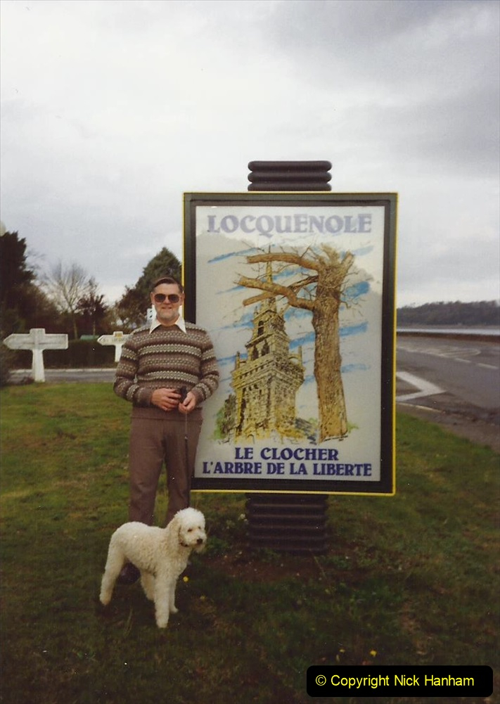France October 1989 Morlaix and the Locquenole area.  (14)14