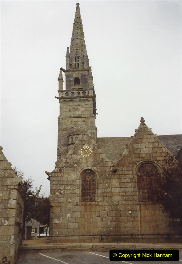 France October 1989 Morlaix and the Locquenole area.  (17)17