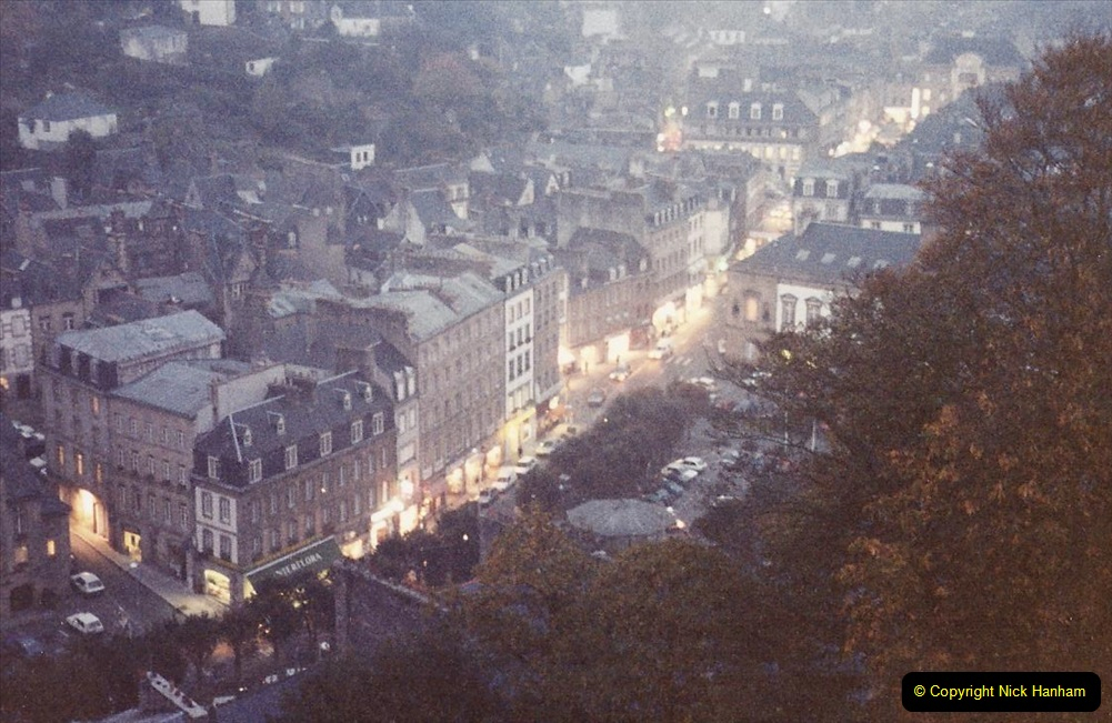 France October 1989 Morlaix and the Locquenole area.  (20)20