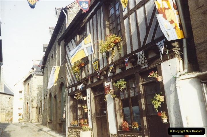 France October 1989 Morlaix and the Locquenole area.  (5)05