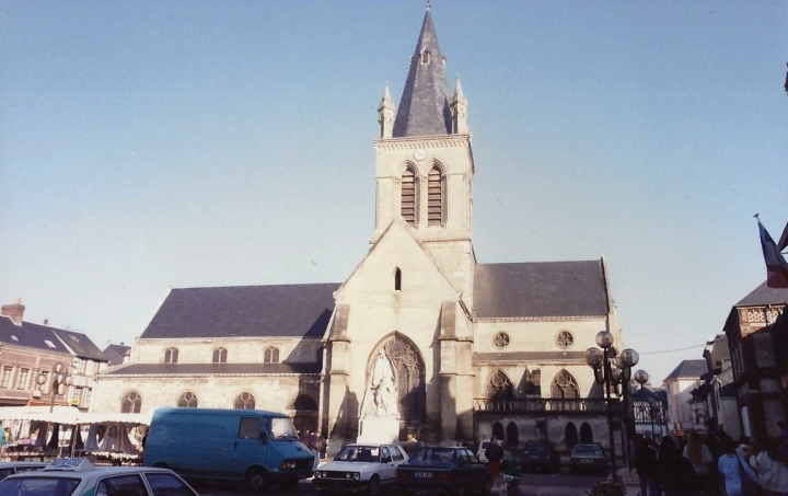 1990 Retrospective France North West and Paris, School Visit. (107) Pauilly. 107