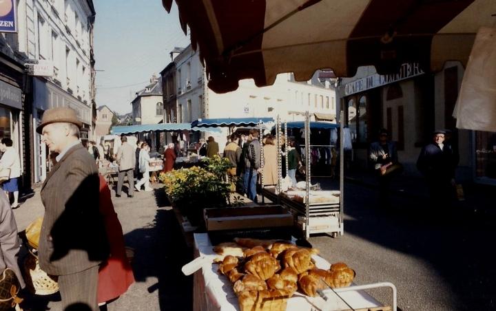 1990 Retrospective France North West and Paris, School Visit. (110) Pauilly. 110
