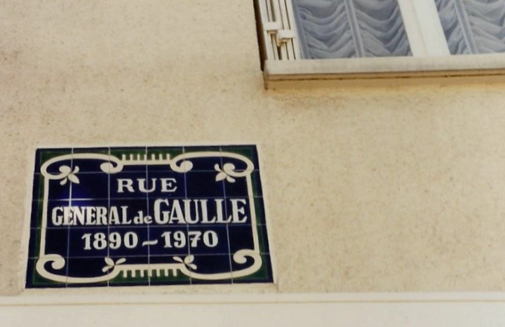 1990 Retrospective France North West and Paris, School Visit. (117) Pauilly. 117