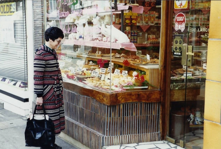 1990 Retrospective France North West and Paris, School Visit. (28) Lillebonne. 028
