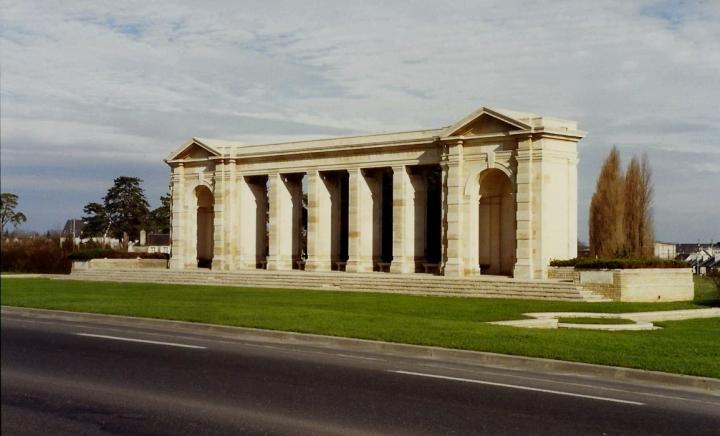 1990 Retrospective France North West and Paris, School Visit. (44) Arromanches. 044