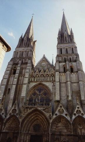 1990 Retrospective France North West and Paris, School Visit. (55) Bayeux. 055