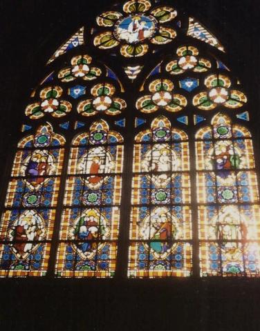 1990 Retrospective France North West and Paris, School Visit. (58) Bayeux. 058