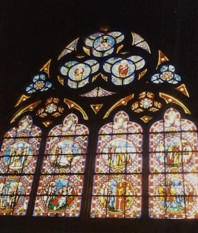 1990 Retrospective France North West and Paris, School Visit. (59) Bayeux. 059