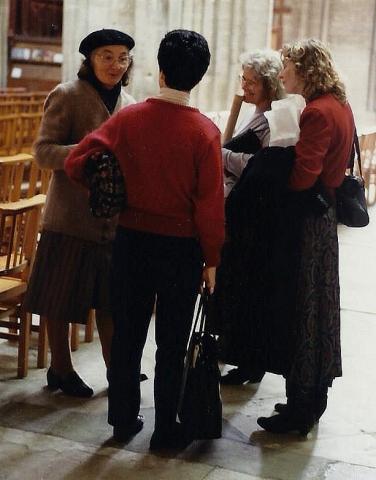 1990 Retrospective France North West and Paris, School Visit. (61) Bayeux. 061
