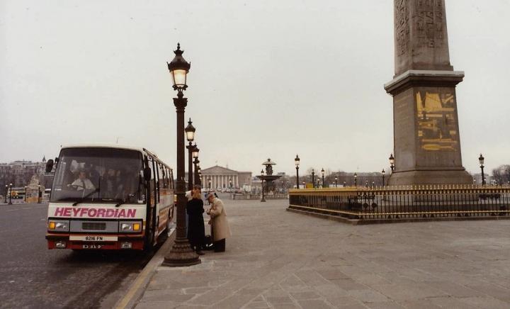 1990 Retrospective France North West and Paris, School Visit. (71) Paris. 071