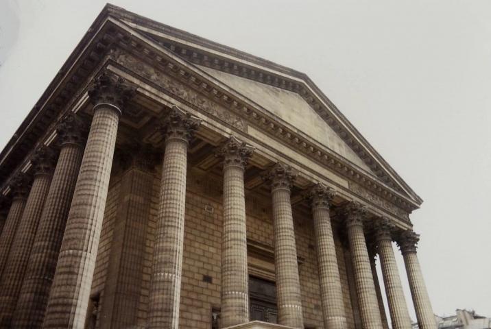 1990 Retrospective France North West and Paris, School Visit. (77) Paris. 077