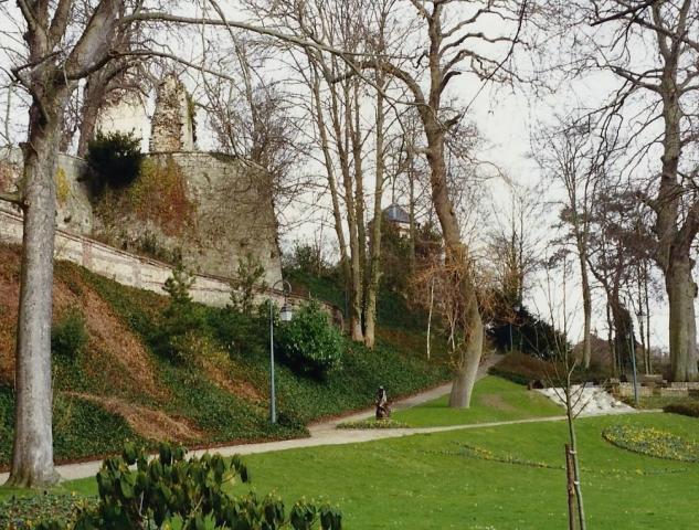 1990 Retrospective France North West and Paris, school visit. (24) Caudebec En Caux. 024