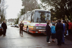 1990 Retrospective France North West and Paris, School Visit. (1) Ready for the off. 001