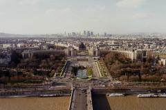 1990 Retrospective France North West and Paris, School Visit. (101) Paris. 101