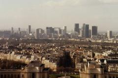 1990 Retrospective France North West and Paris, School Visit. (102) Paris. 102