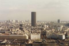1990 Retrospective France North West and Paris, School Visit. (103) Paris. 103