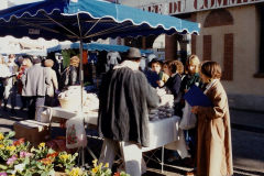 1990 Retrospective France North West and Paris, School Visit. (111) Pauilly. 111