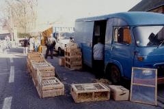 1990 Retrospective France North West and Paris, School Visit. (112) Pauilly. 112