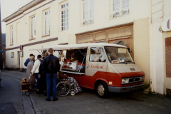 1990 Retrospective France North West and Paris, School Visit. (116) Pauilly. 116