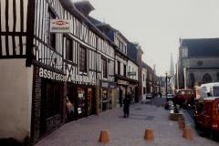 1990 Retrospective France North West and Paris, School Visit. (118) Pauilly. 118