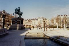 1990 Retrospective France North West and Paris, School Visit. (121) Rouen. 121