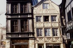 1990 Retrospective France North West and Paris, School Visit. (122) Rouen. 122