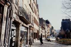 1990 Retrospective France North West and Paris, School Visit. (125) Rouen. 125