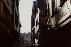 1990 Retrospective France North West and Paris, School Visit. (126) Rouen. 126
