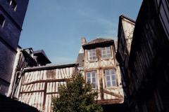 1990 Retrospective France North West and Paris, School Visit. (127) Rouen. 127