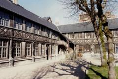 1990 Retrospective France North West and Paris, School Visit. (128) Rouen. 128