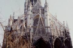 1990 Retrospective France North West and Paris, School Visit. (129) Rouen. 129