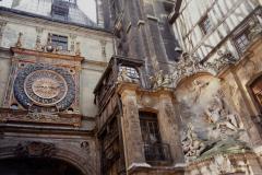 1990 Retrospective France North West and Paris, School Visit. (134) Rouen. 134