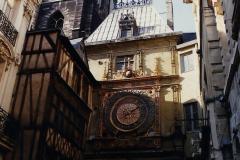 1990 Retrospective France North West and Paris, School Visit. (135) Rouen. 135