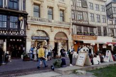 1990 Retrospective France North West and Paris, School Visit. (136) Rouen. 136