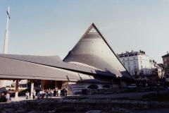 1990 Retrospective France North West and Paris, School Visit. (137) Rouen. 137