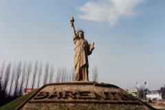 1990 Retrospective France North West and Paris, School Visit. (142) Rouen. 142