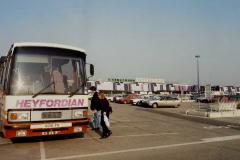 1990 Retrospective France North West and Paris, School Visit. (146) Rouen. 146