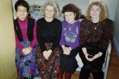 1990 Retrospective France North West and Paris, School Visit. (148) The school staff.148